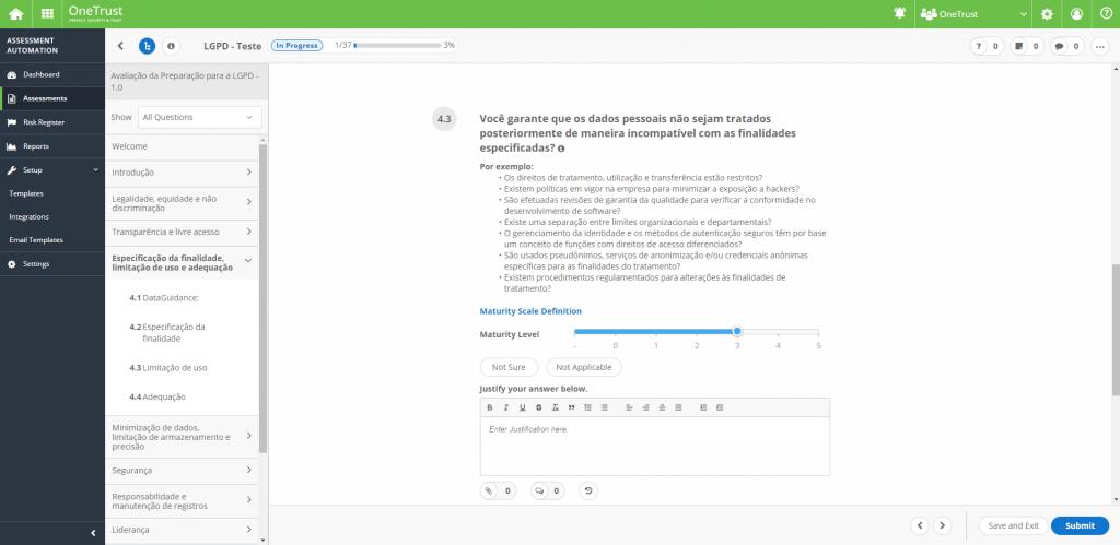 Aproveite a OneTrust Pro