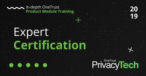OneTrust PrivacyTech Expert Certification
