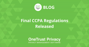Final CCPA Regulations Released