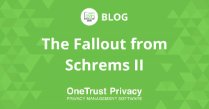 The Fallout from Schrems II