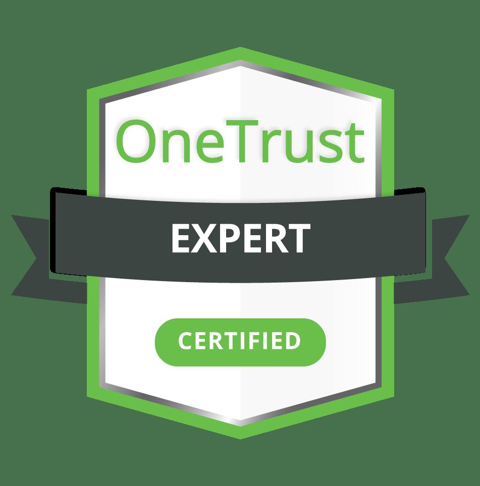 OneTrust Expert Certification Badge