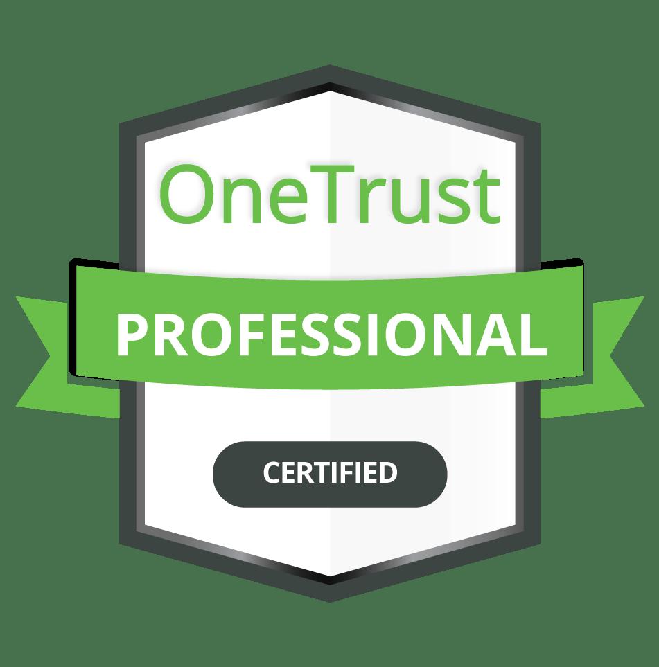 OneTrust Professional Certification Badge