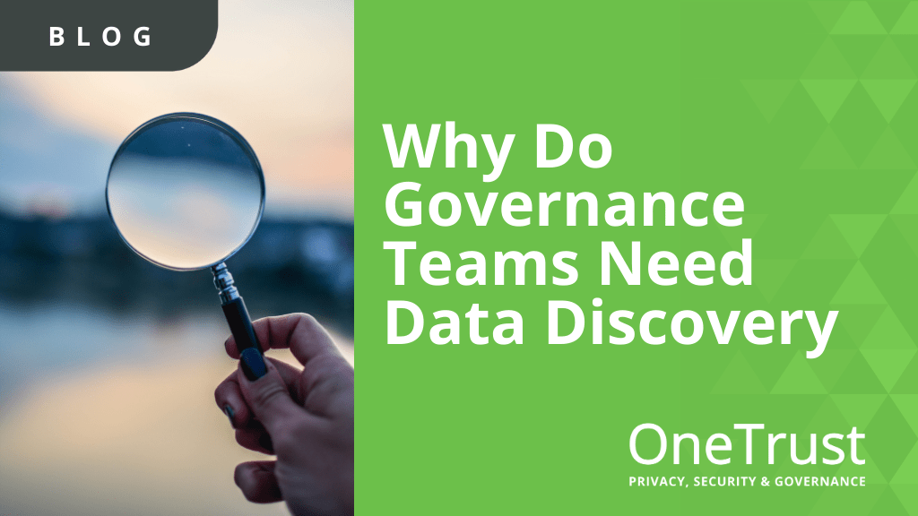 Data Discovery for Governance Teams