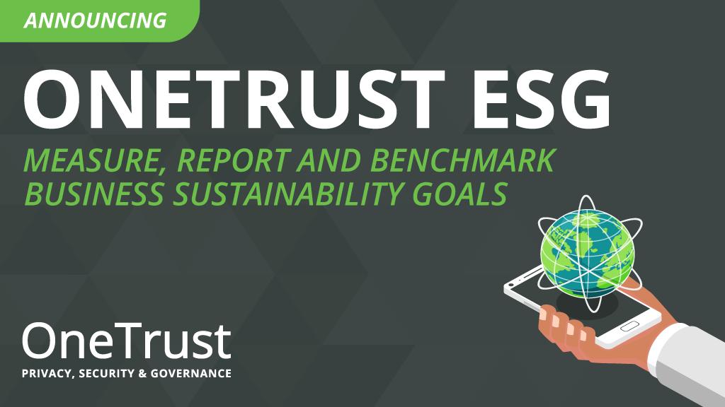 OneTrust's ESG Solution