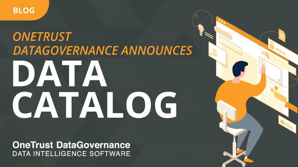 OneTrust announces Data Catalog