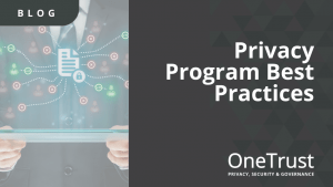 Privacy Program Best Practices