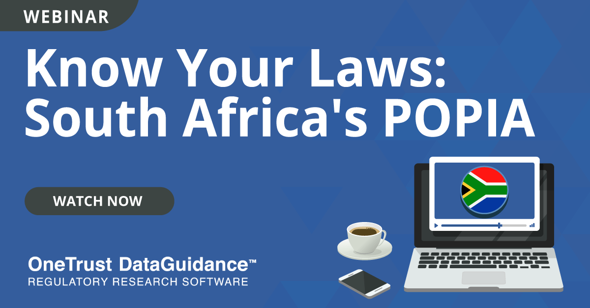 Know Your Laws: POPIA
