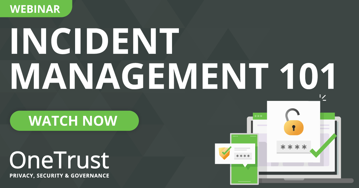 Incident Management 101: Watch Now