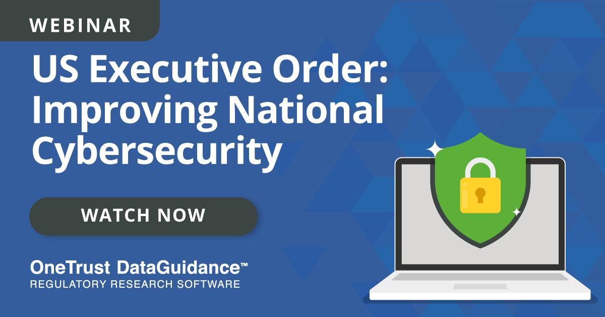 Watch US Executive Order Webinar