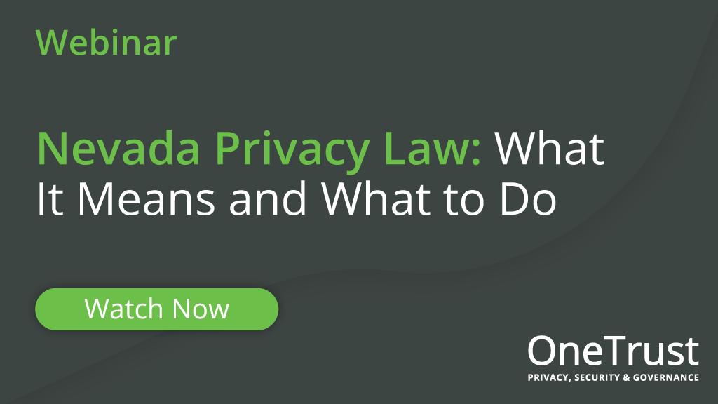 Nevada Privacy Law