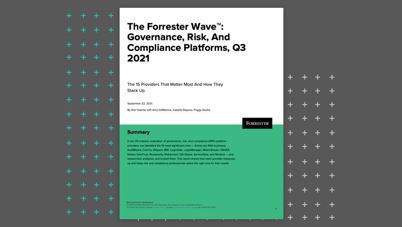 Forrester Wave GRC 2021