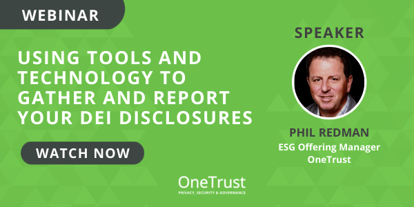 Tools and technology for collecting and reporting DEI disclosures