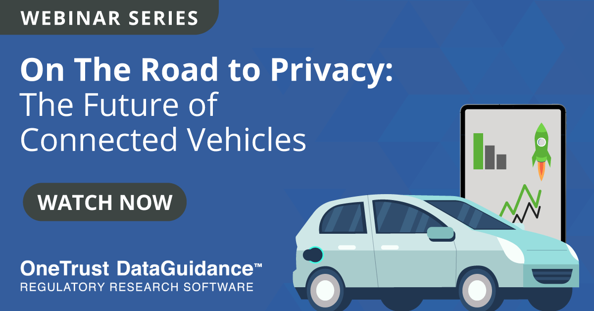 Connected Vehicles Webinar Recording
