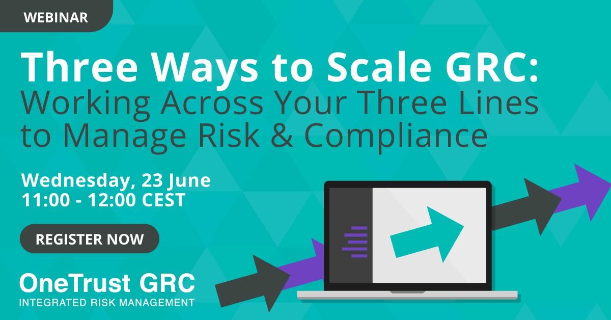 GRC-Three Ways to Scale GRC-Webinar