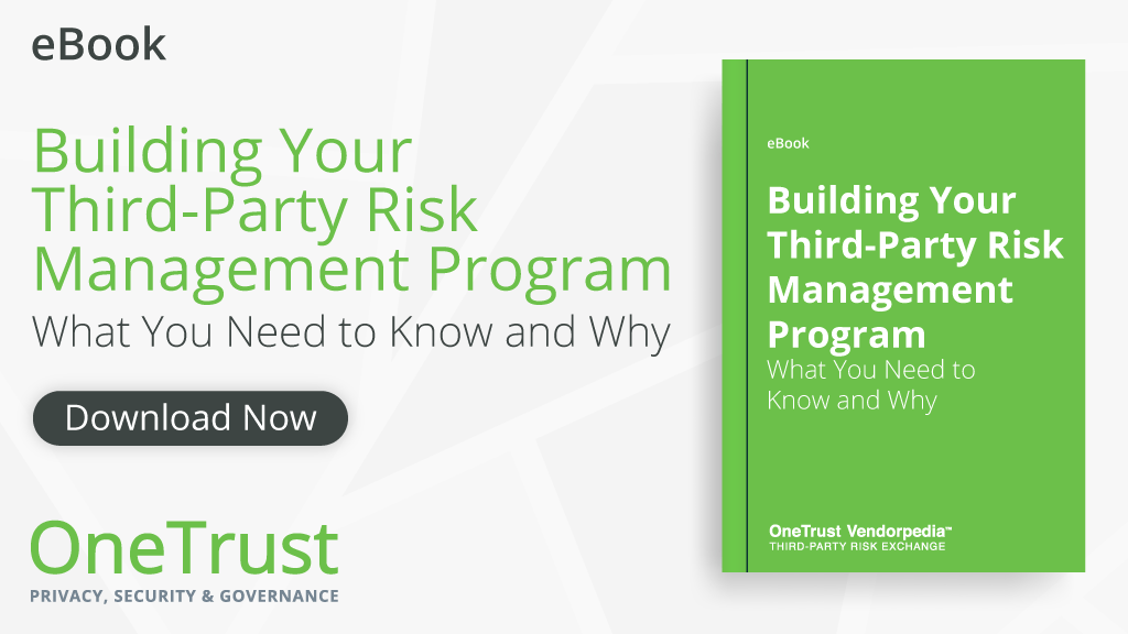 third party risk management guide