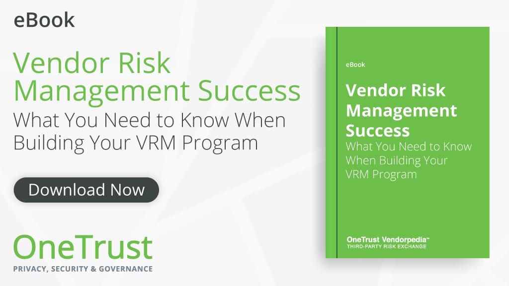Vendor Risk Management guide