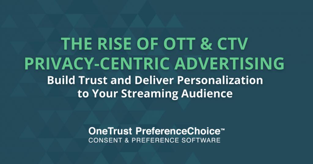 CTV OTT Advertising privacy