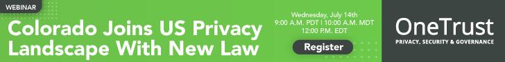 Colorado Privacy Act Webinar