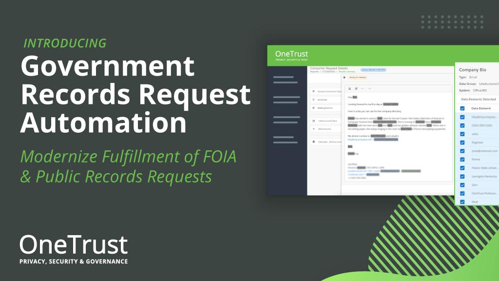 Government Records Request Demo Form