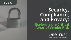 Security, Compliance, and Privacy: Exploring the Critical Areas of Vendor Risk