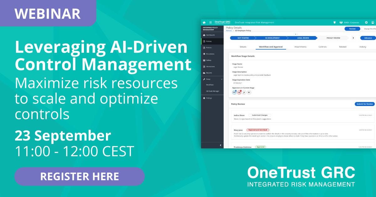 Leveraging AI-Driven Control Management