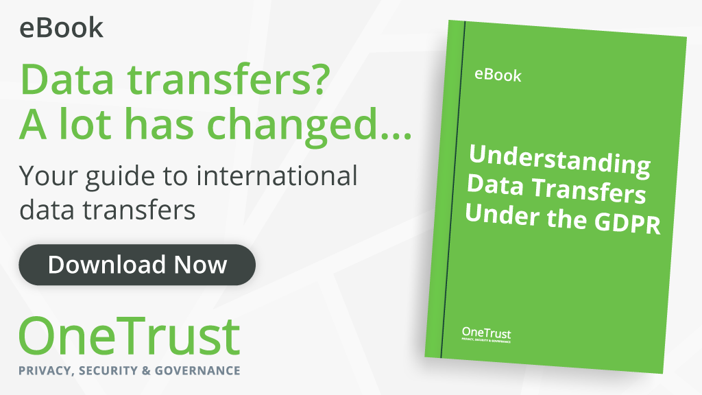 Understanding Data Transfers Under The GDPR eBook