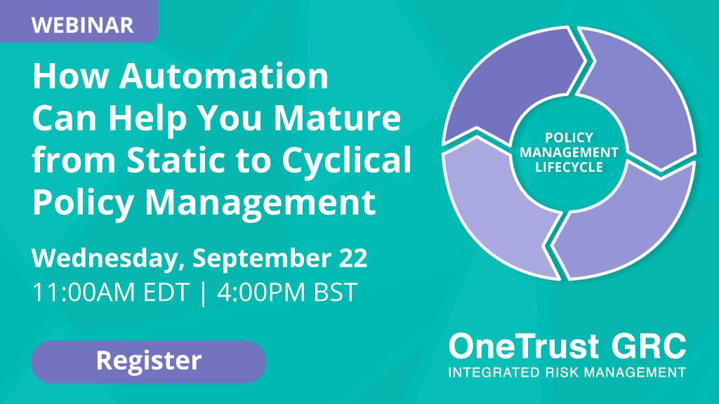 Automated Policy Management Webinar