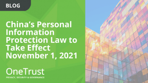 China's Personal Information Protection Law Passed