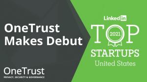 OneTrust Top Tech Startup