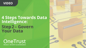 4 Steps Towards Data Intelligence: Step2– Govern Your Data