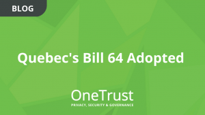 Quebec Bill 64 Adopted