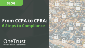 From CCPA to CPRA: 6 Steps to Compliance