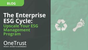 The Enterprise ESG Cycle